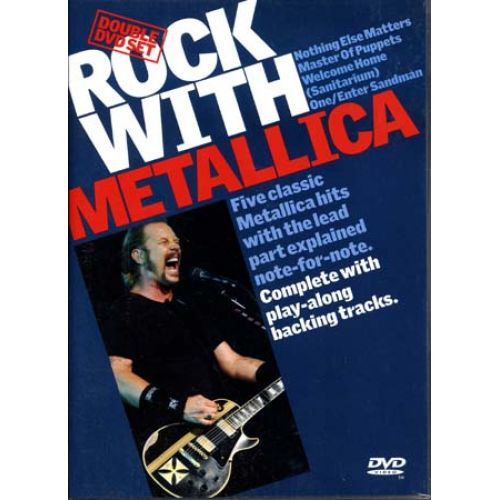 MUSIC SALES METALLICA - ROCK WITH