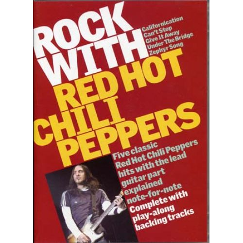 MUSIC SALES RED HOT CHILI PEPPERS - ROCK WITH