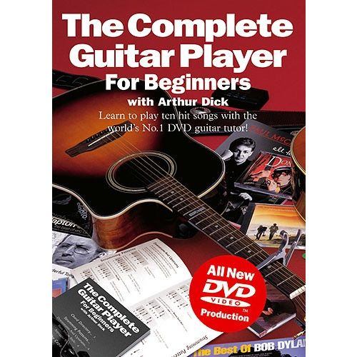 MUSIC SALES THE COMPLETE GUITAR PLAYER FOR BEGINNERS - GUITAR