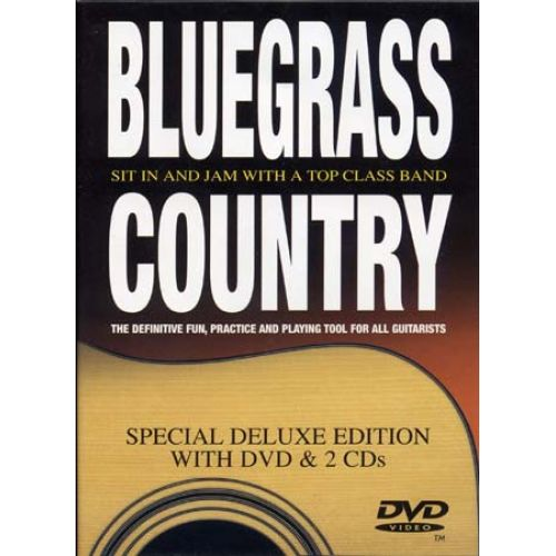 MUSIC SALES BLUEGRASS COUNTRY + 2 CD