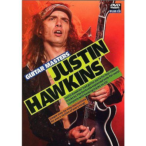 ROADROCK INTERNATIONAL STUART BULL - JUSTIN HAWKINS - GUITAR MASTERS DVD AND CD - GUITAR