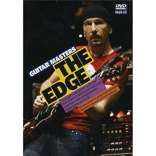 WISE PUBLICATIONS THE EDGE - GUITAR MASTERS DVD AND CD - GUITAR