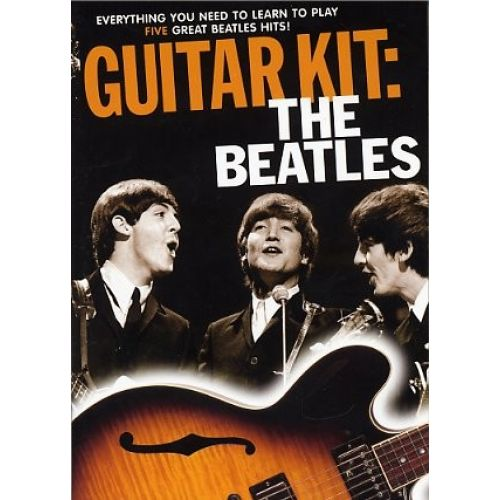 MUSIC SALES GUITAR KIT - THE BEATLES + DVD + CD - GUITAR