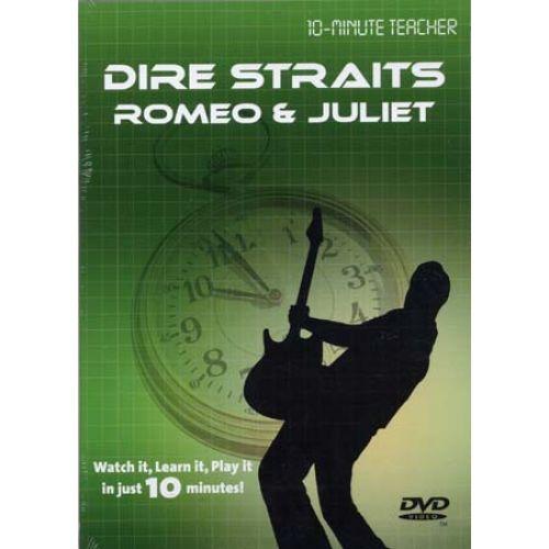 MUSIC SALES DIRE STRAITS - ROMEO & JULIET - DVD 10-MINUTE TEACHER - GUITAR