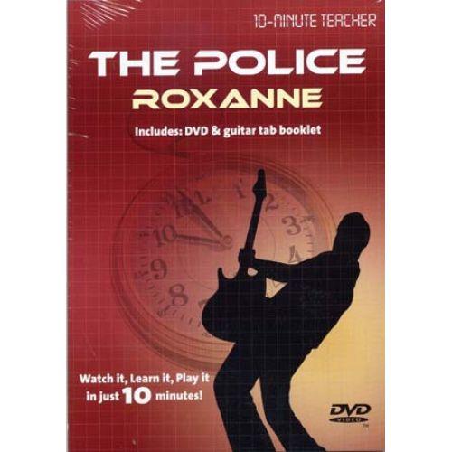 MUSIC SALES POLICE - ROXANNE - 10-MINUTE TEACHER - GUITARE