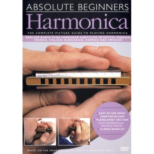 MUSIC SALES ABSOLUTE BEGINNERS - HARMONICA - HARMONICA