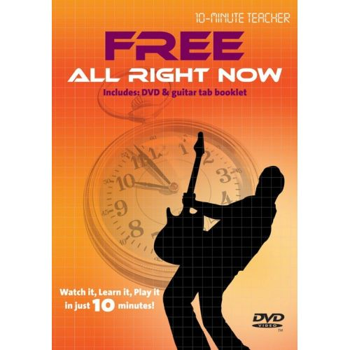 MUSIC SALES TEN MINUTE TEACHER - FREE - ALL RIGHT NOW [DVD] - GUITAR