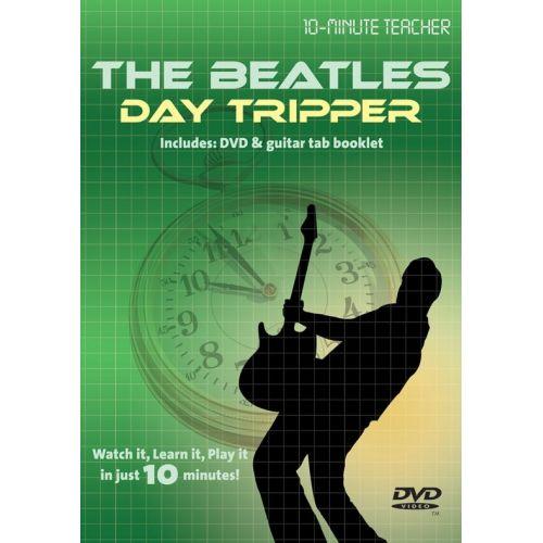 MUSIC SALES 10-MINUTE TEACHER - THE BEATLES - DAY TRIPPER [DVD] - GUITAR