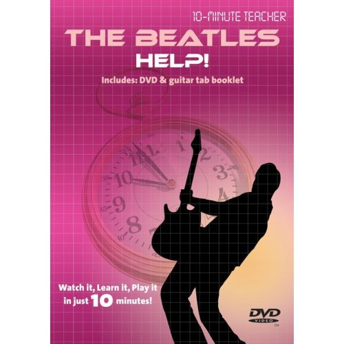 MUSIC SALES 10-MINUTE TEACHER - THE BEATLES - HELP! [DVD] - GUITAR TAB
