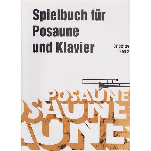 DEUTSCHER VERLAG FüR MUSIK SPIELBUCH FUR POSAUNE UND KLAVIER VOL.2