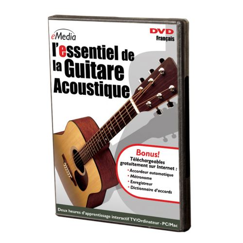 ipe music essentiel de la guitare acoustique dvd. Black Bedroom Furniture Sets. Home Design Ideas