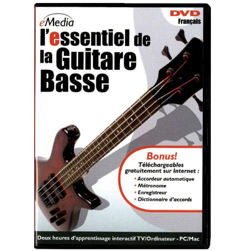 ipe music essentiel de la guitare basse en dvd. Black Bedroom Furniture Sets. Home Design Ideas