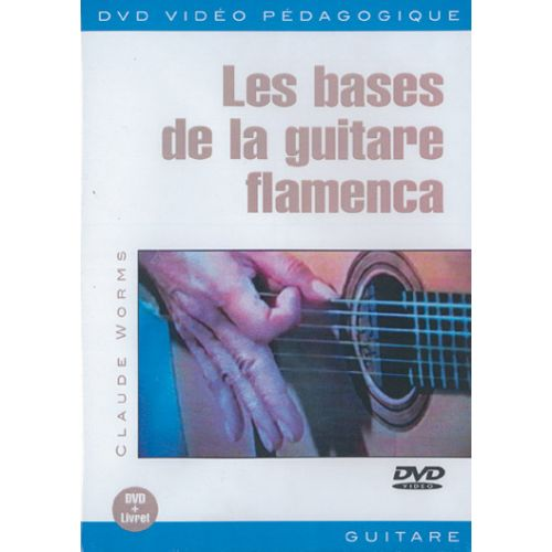 PLAY MUSIC PUBLISHING WORMS - LES BASES DE LA GUITARE FLAMENCA DVD