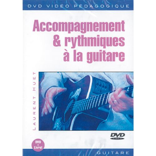 PLAY MUSIC PUBLISHING HUET LAURENT - ACCOMPAGNEMENT & RYTHMIQUES A LA GUITARE DVD