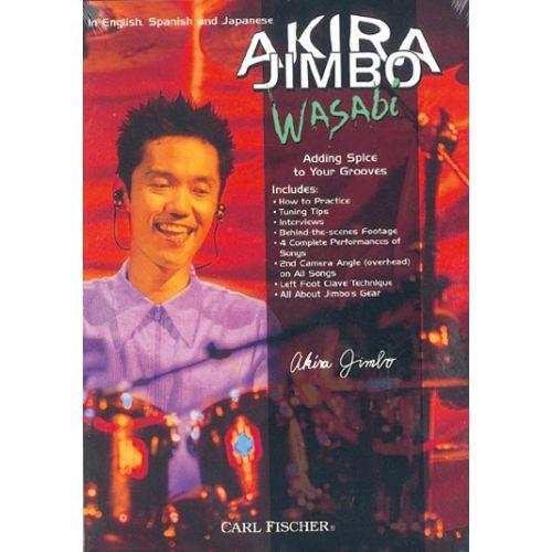 CARL FISCHER JIMBO AKIRA - WASABI - BATTERIE