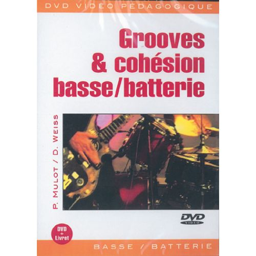 PLAY MUSIC PUBLISHING MULOT PASCAL - GROOVES & COHESION FRA - BASSE, PERCUSSIONS
