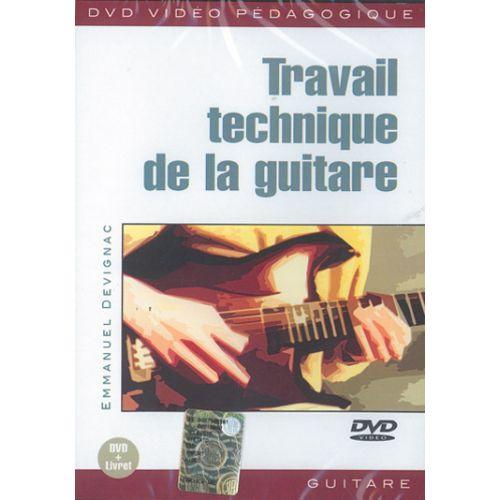 PLAY MUSIC PUBLISHING DEVIGNAC EMMANUEL - TRAVAIL TECHNIQUE DE GUITARE - GUITARE