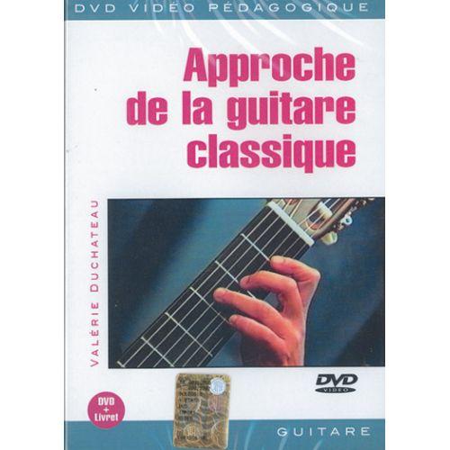 PLAY MUSIC PUBLISHING DUCHATEAU VALERIE - APPROCHE DE LA GTR CLASSIQUE - GUITARE