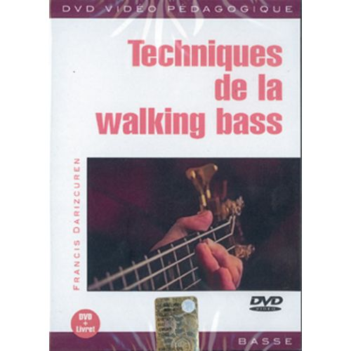 PLAY MUSIC PUBLISHING DARIZCUREN FRANCIS - TECHNIQUES DE LA WALKING BASS - BASSE