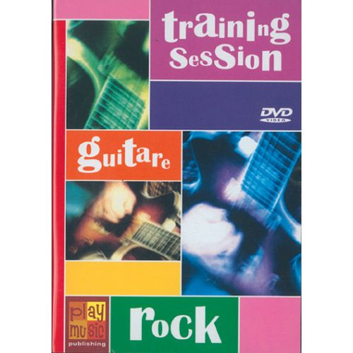 PLAY MUSIC PUBLISHING FREDD JUDGE - TRAINING SESSION GUITAR ROCK - GUITARE