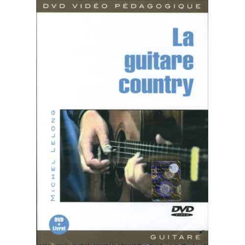 PLAY MUSIC PUBLISHING LELONG - LA GUITARE COUNTRY DVD