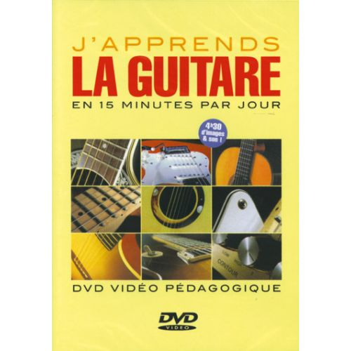 PLAY MUSIC PUBLISHING DEVIGNAC - J'APPRENDS LA GUITARE EN 15 MINUTES PAR JOUR DVD