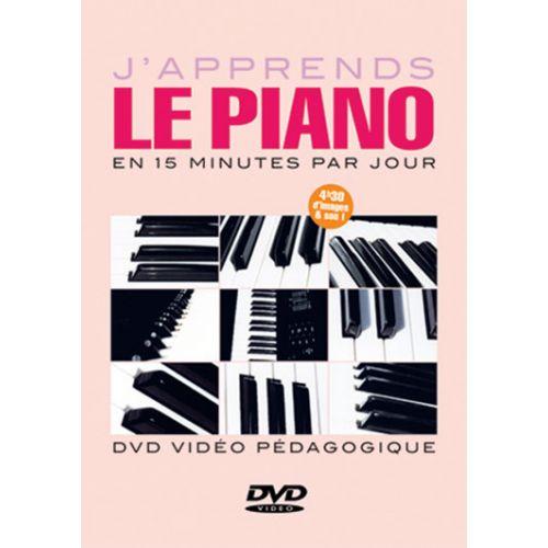 PLAY MUSIC PUBLISHING TUITION DVD - DAUTIGNY - J'APPRENDS LE PIANO EN 15 MINUTES PAR JOUR