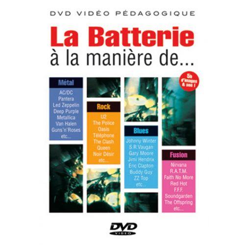 PLAY MUSIC PUBLISHING MEYRONNIN - BATTERIE À LA MANIÈRE DE....