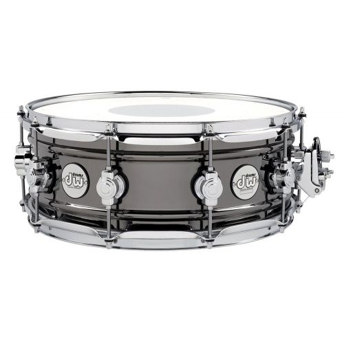 DW DRUM WORKSHOP DESIGN BLACK BRASS 14 X 5.5