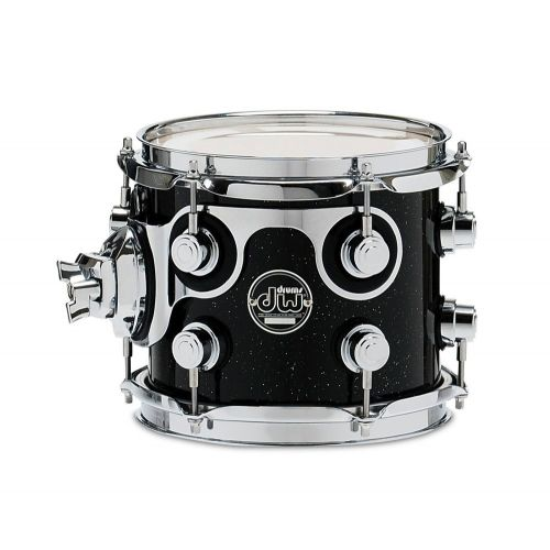 DW DRUM WORKSHOP TOM PERFORMANCE LACQUER GUN METAL METALLIC