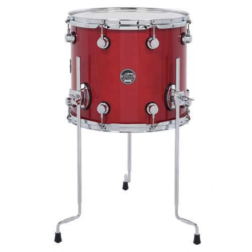DW DRUM WORKSHOP TOM PERFORMANCE LACQUER CANDY APPLE RED