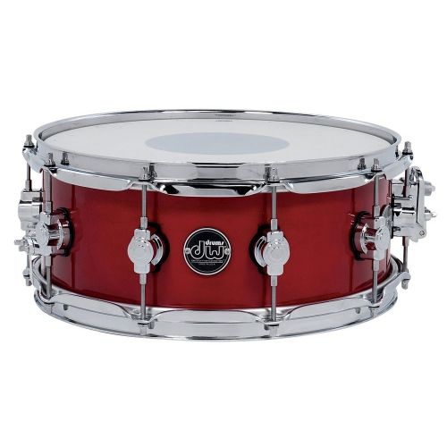 DW DRUM WORKSHOP SNARE DRUM PERFORMANCE LACQUER CANDY APPLE RED