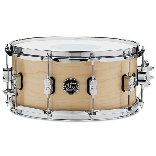 DW DRUM WORKSHOP SNARE DRUM PERFORMANCE LACQUER NATUREL