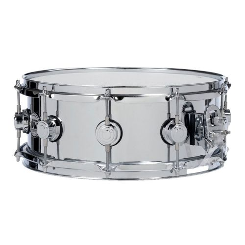 DW DRUM WORKSHOP SNARE DRUM STEEL 14X5,5