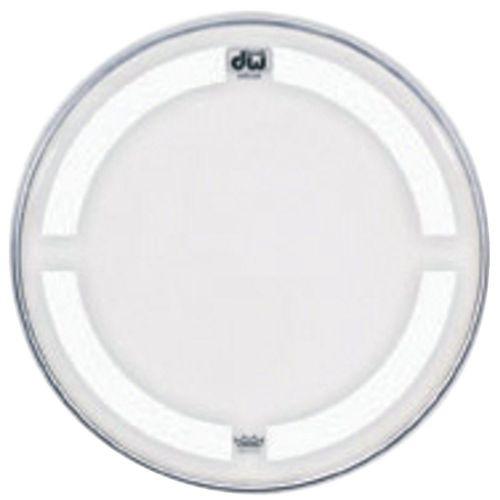 DW DRUM WORKSHOP BASS DRUM HEAD COATED CLEAR 23