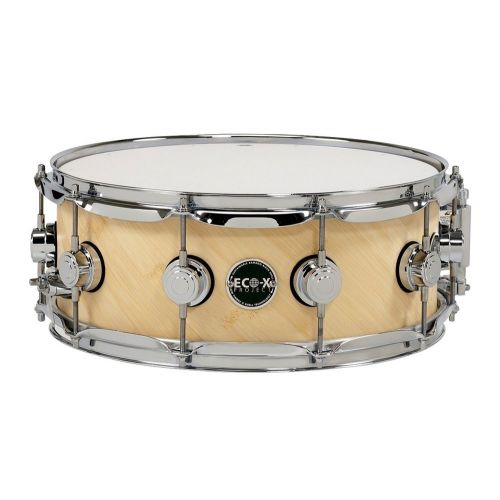 DW DRUM WORKSHOP ECO-X EBONY STAIN 14 x 5.5