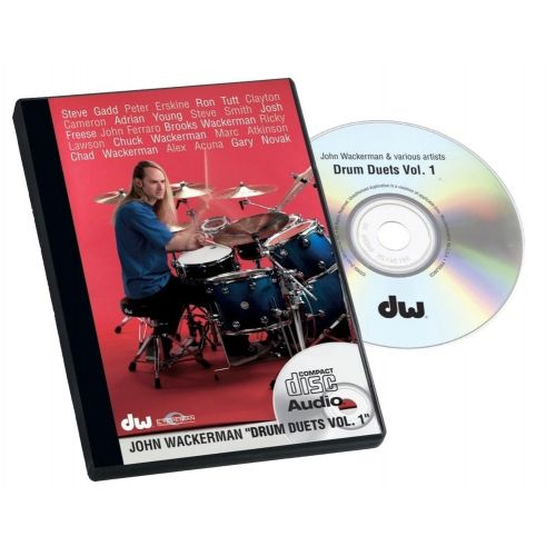 DW DRUM WORKSHOP DVD JOHN WACKERMAN DRUM DUETS VOL. 1