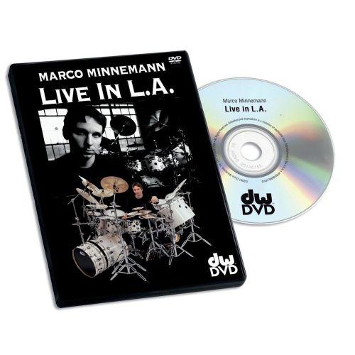 DW DRUM WORKSHOP DVD MARCO MINNEMANN LIVE IN L.A
