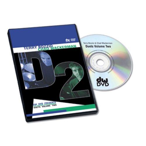 DW DRUM WORKSHOP DVD BOZZIO WACKERMAN SOLO - DUETS