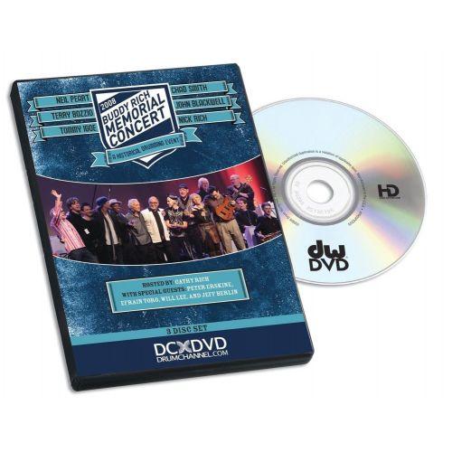 DW DRUM WORKSHOP DVD BUDDY RICH MEMORIAL CONCERT
