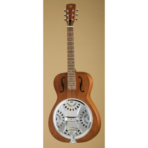 EPIPHONE DOBRO HOUND DOG ROUND NECK VINTAGE BROWN