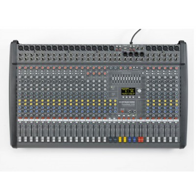 Powered mixing board