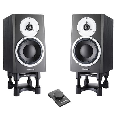 DYNAUDIO PROFESSIONAL BM5 MKIII (PAIR) + VOLUME BOX + STANDS ISOACOUSTIC