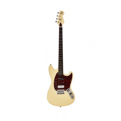 EASTWOOD GUITARS WARREN ELLIS BARITONE 2P VINTAGE CREAM
