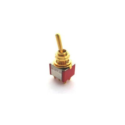 EAGLEPARTS MINI SWITCH ON-OFF-ON DORE