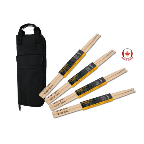 EAGLETONE 5A HICKORY PACK (X4) + TASCHE