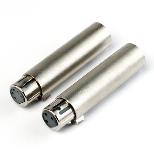 EAGLETONE ACO50 - DMX-ADAPTERS XLR3 FEMALE - XLR5 MALE + XLR5 FEMALE - XLR3 MALE