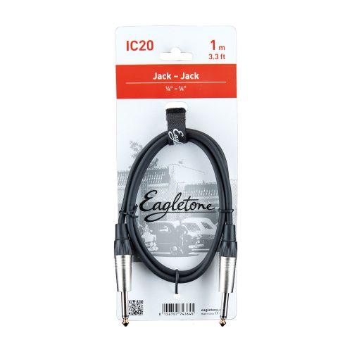 EAGLETONE IC20 - JACK / JACK - 1M