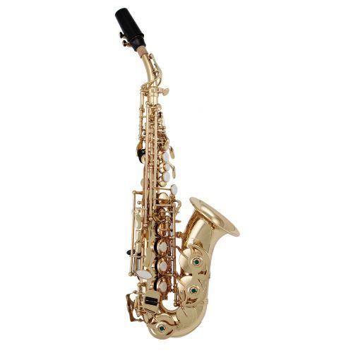 Saxofones soprano curvo