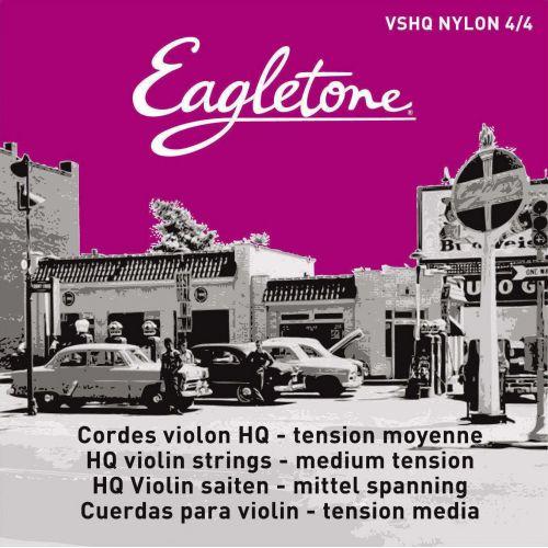 EAGLETONE VSHQ NYLON 4/4 - VIOLIN STRING SET